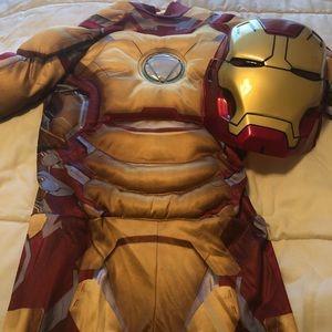 Iron man muscle Halloween costume